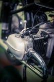 Rocznika motocyklu boksera silnik obrazy stock