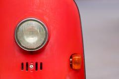 Rocznika motocyklu stylowy światło Fotografia Stock