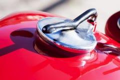 Rocznika motocyklu szczegółu zbiornik Fotografia Stock
