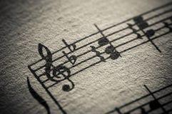 Rocznika Muzyki Klasycznej Wynik Obraz Royalty Free