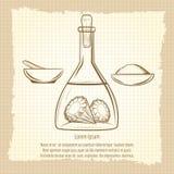 Rocznika nakreślenie laboratorium naukowego wyposażenie ilustracji