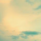 Rocznika niebo. Zdjęcia Stock
