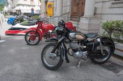 Rocznika Nsu motocykl Fotografia Royalty Free