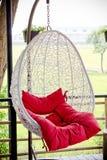 Rocznika obwieszenia krzesło Fotografia Royalty Free