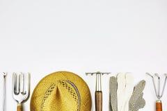 Rocznika ogrodnictwa narzędzia Zdjęcie Royalty Free