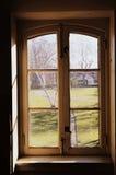 Rocznika okno zdjęcie stock
