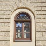 Rocznika okno, Munchen, Niemcy Zdjęcia Royalty Free