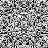 Rocznika ornament Zdjęcie Royalty Free