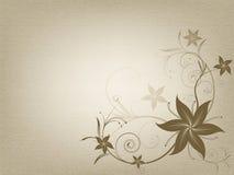Rocznika ornamentacyjny stary papierowy tło Obrazy Royalty Free