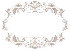 Rocznika ornamentu tło Wektorowy wystroju tło Zdjęcie Royalty Free