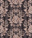 Rocznika ornamentu wzoru wektor Barokowy klasyczny tło Królewska Wiktoriańska tekstura Starzy malujący stylowi wystrojów projekty royalty ilustracja
