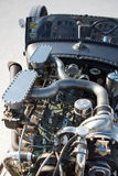 Rocznika Packard samochodowy silnik podczas światu prędkość 2012. Zdjęcia Stock