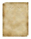Rocznika papier Obraz Royalty Free