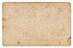 Rocznika papierowy tło odizolowywający zdjęcie stock