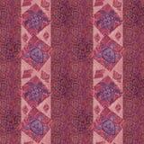 Rocznika patchwork z obrazka grunge tłem Fotografia Royalty Free