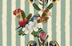 Rocznika Piękny i modny Bezszwowy Deseniowy projekt w super wysoka rozdzielczość Deseniowa dekoracji tekstura Rocznika stylu proj royalty ilustracja