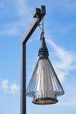 Rocznika plenerowy latarniowy oświetlenie Fotografia Stock