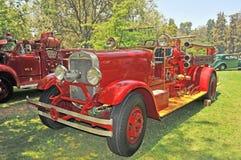 Rocznika Pożarniczy silnik Zdjęcie Stock