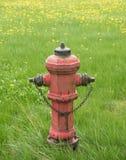 Rocznika pożarniczy hydrant Obraz Royalty Free