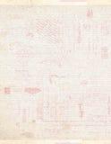 Rocznika pocztówkowy kolażu tło Obrazy Royalty Free