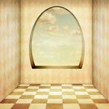 Rocznika pokój ilustracji