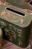 Rocznika postbox Fotografia Stock