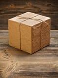 Rocznika prezenta pudełko Zdjęcie Royalty Free