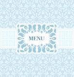 Rocznika projekta menu Obrazy Royalty Free