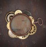 Rocznika przemysłowy machinalny tło Zdjęcie Royalty Free