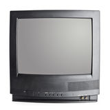 Rocznika przenośnego urządzenia telewizor Zdjęcia Stock