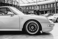 Rocznika przewieziony retro samochód Piękna wystawa Fotografia Royalty Free