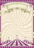 Rocznika purpur cyrk Fotografia Stock