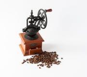 Rocznika ręczny kawowy młyn Obraz Royalty Free