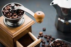 Rocznika ręczny kawowy ostrzarz Zdjęcie Stock