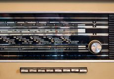 Rocznika radio obrazy stock
