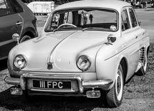 Rocznika Renault samochód zdjęcie stock