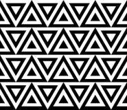 Rocznika retro bezszwowy deseniowy czarny i biały ilustracja wektor