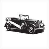 Rocznika retro samochód Fotografia Royalty Free