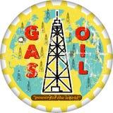 ropa i gaz ilustracja wektor