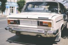 Rocznika rosjanina samochód zdjęcia royalty free