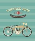 Rocznika rower royalty ilustracja