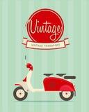 Rocznika rower ilustracji