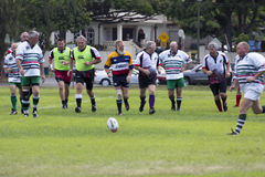 Rocznika rugby Obraz Royalty Free