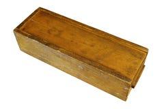 Rocznika rummy drewniany pudełko zdjęcia royalty free
