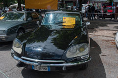 Rocznika 60, 70 - ` s Citroen samochód Obrazy Stock