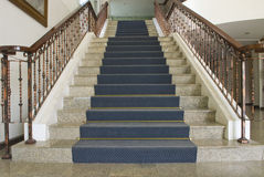 Rocznika Salowy Elegancki schody Obraz Stock