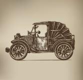 Rocznika samochód royalty ilustracja