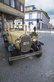 Rocznika samochód Fotografia Royalty Free