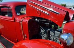 Rocznika samochód, Statham, Gruzja Zdjęcie Royalty Free