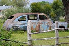 Rocznika samochód w parku Obraz Royalty Free